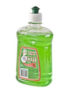 """Жидкое средство для мытья посуды """"МИЛАЯ-Яблоко"""""""