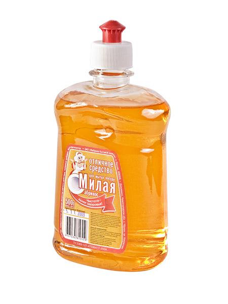 """Жидкое средство для мытья посуды """"МИЛАЯ - Абрикос"""""""