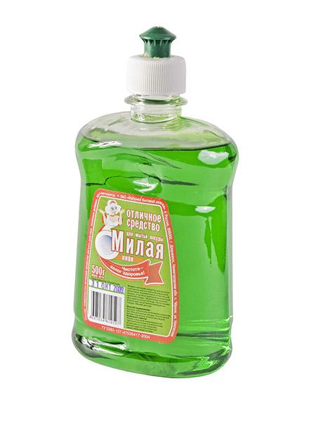 """Жидкое средство для мытья посуды """"МИЛАЯ - Киви"""""""