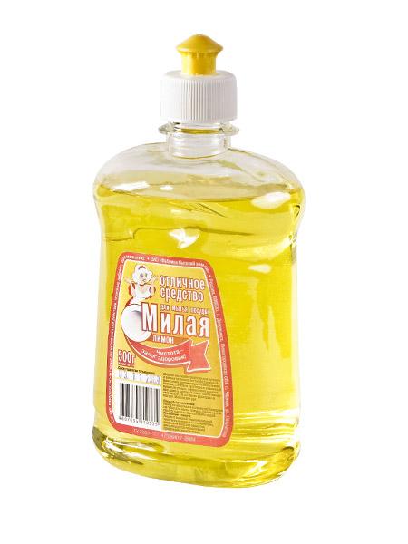 """Жидкое средство для мытья посуды """"МИЛАЯ - Лимон"""""""